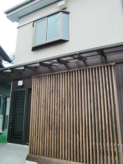 脇屋1階の車庫兼物置を大リフォーム