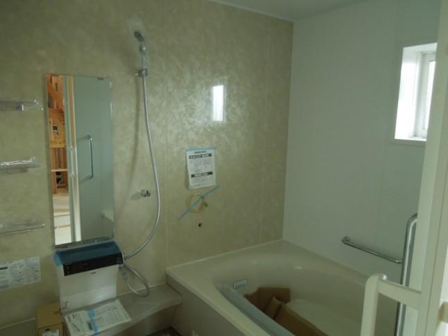 56 お風呂設置