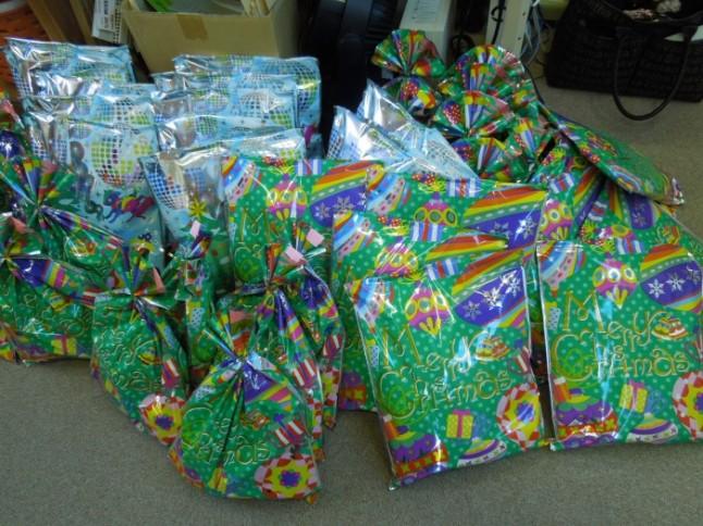 袋詰めプレゼント完成